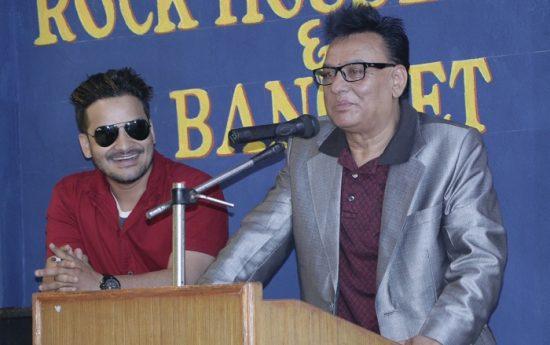 Actor Rabindra Khadka